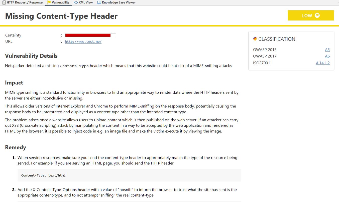Content-Type-Header