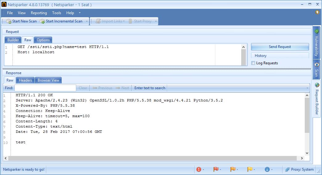 Server Side Template Injection Zafiyeti-2