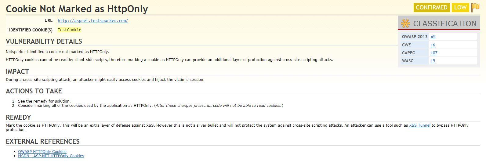 Düşük Düzeydeki Web Uygulama Zafiyeti